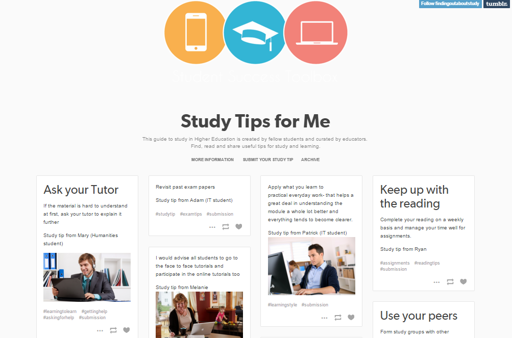 Tool 7: Top Tips for Study